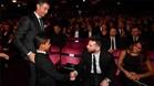 El hijo de Cristiano Ronaldo saludó a Messi