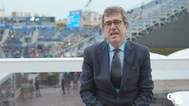 Josep Jordi Cambra: El tenis es la excusa para reunir a amantes del deporte