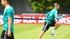 Kroos, ejercitándose con la Mannschaft