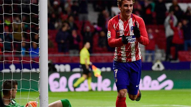 LALIGA | Atlético - Leganés (4-0): El póker de goles de Griezmann