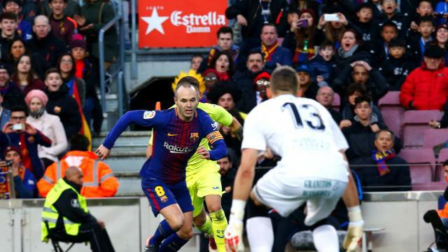 LALIGA | FC Barcelona - Getafe (0-0): El detalle de Iniesta