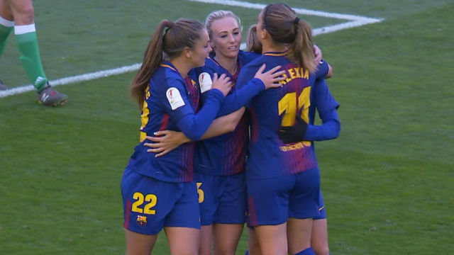 LALIGA FEMENINA | FCBarcelona - Betis (6-1)