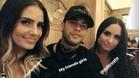 Layla, Neymar y Lovato, en Londres