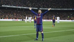 Leo Messi marca la diferencia siempre que el Barcelona necesita al 10