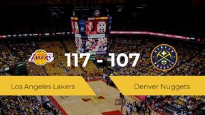 Los Angeles Lakers gana a Denver Nuggets (117-107)