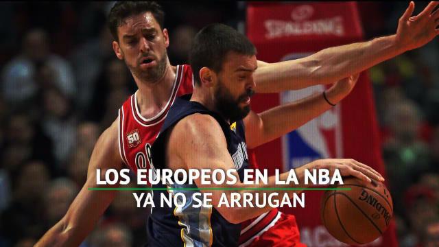Los europeos ya mandan en la NBA