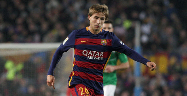 Midfielder Sergi Samper to leave Barcelona