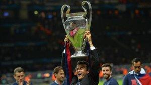 Luis Enrique recordó la final de la Champions League que conquistó con el FC Barcelona en Berlín ante la Juventus