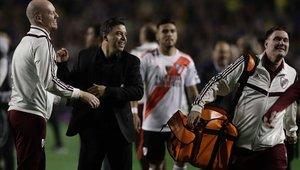 Marcelo Gallardo ha empezado a sonar en el Barcelona