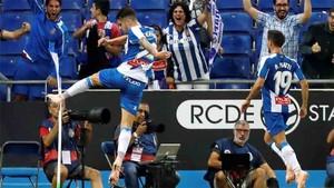 Mario Hermoso marcó el gol de la victoria