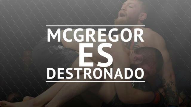 McGregor, destronado por Khabib