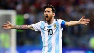 Messi también fue subcampeón del mundo en el 2014