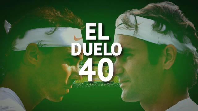 Nadal VS Federer: el duelo 40