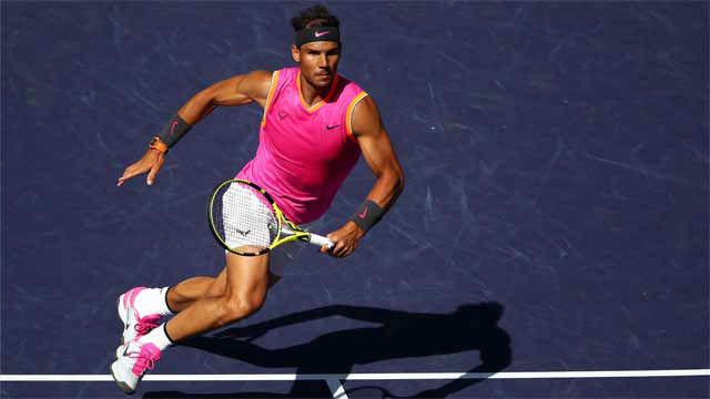 Nadal, a semis de Indian Wells tras imponerse a Khachanov (7-6, 7-6)