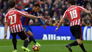 Neymar está siendo el jugador más peligroso del FC Barcelona