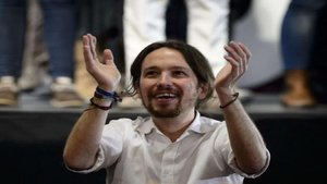 Pablo Iglesias bromea con su equivocación en el debate y sobre Albert