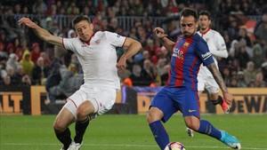 Paco Alcácer ha mostrado una línea ascendente en el Barça