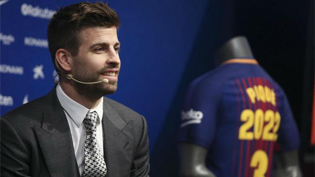 Piqué reitera su deseo de dejar la selección tras el Mundial