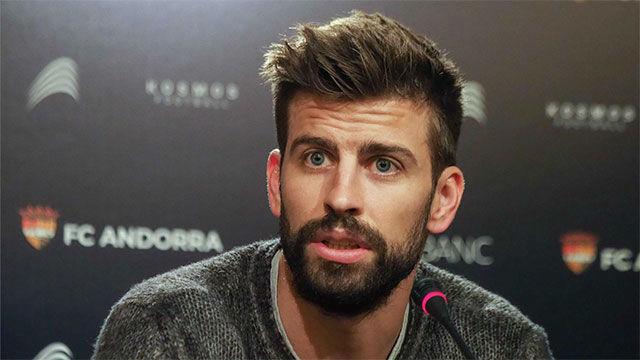 Piqué, sobre el Andorra: Messi estará en el proyecto