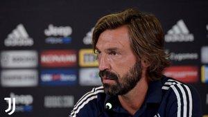 Pirlo habló de Luis Suárez en la sala de prensa de la Juventus