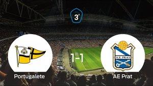 El Prat consigue ascender a Segunda B después del empate 1-1
