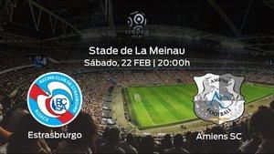 Previa del encuentro: el Racing Estrasburgo recibe al Amiens SC