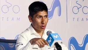 Quintana atendió a los medios para hablar sobre sus objetivos de cara a los próximos meses
