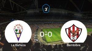 Reparto de puntos en el Estadio La Llanera: La Bañeza0-0 Atl. Bembibre
