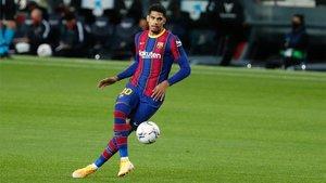 Ronald Araujo actuó con solvencia contra el equipo que le vio debutar en Primera