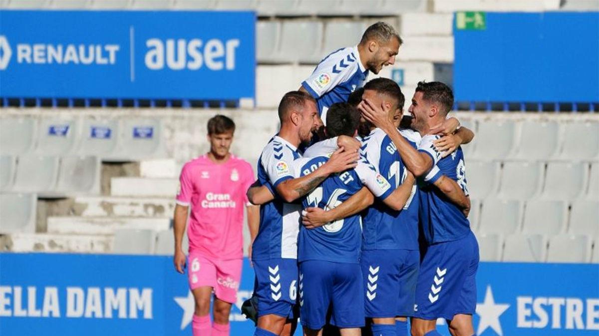 El Sabadell vuelve a sonreír tres jornadas después