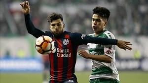 San Lorenzo avanza a octavos de final de la Sudamericana