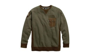 smejiasmen s classic olive contrast accent pullover160921195517
