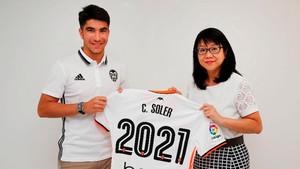 Soler renueva hasta 2021