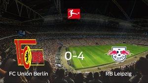 Sólido triunfo para el equipo lipsiense: Unión Berlín 0-4 RB Leipzig