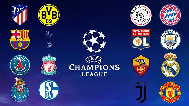 Todos los equipos clasificados para octavos de final de la Champions