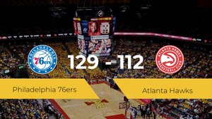 Triunfo de Philadelphia 76ers en el Wells Fargo Center ante Atlanta Hawks por 129-112