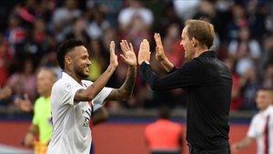 Tuchel habla de su relación con Neymar
