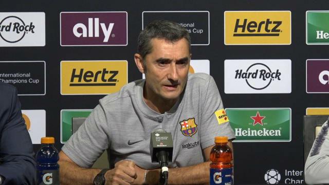 Valverde habló de la posible salida de Cillessen