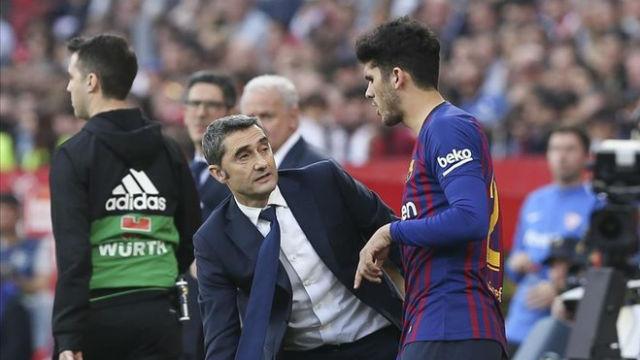 Valverde lamentó la salida de Aleñá