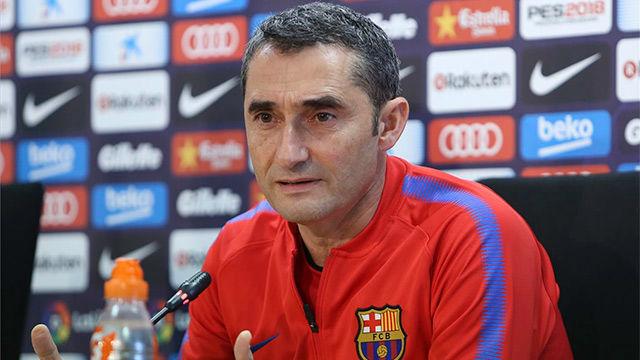 Valverde pasa de las opiniones sobre las rotaciones de Messi