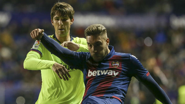 Levante 2 - 1 Barcelona - Match Report & Highlights