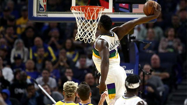 Zion Williamson planta a New Orleans a las puertas de los playoffs tras tumbar a los Warriors