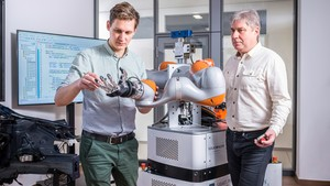 Expertos en robótica en Volkswagen