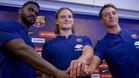 Alexis Borges, Dolenec y Lenne debutaron con el Barça Lassa