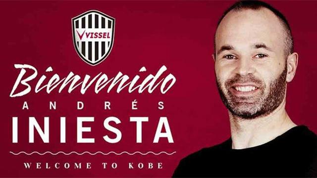 Andrés Iniesta ya es del Vissel Kobe