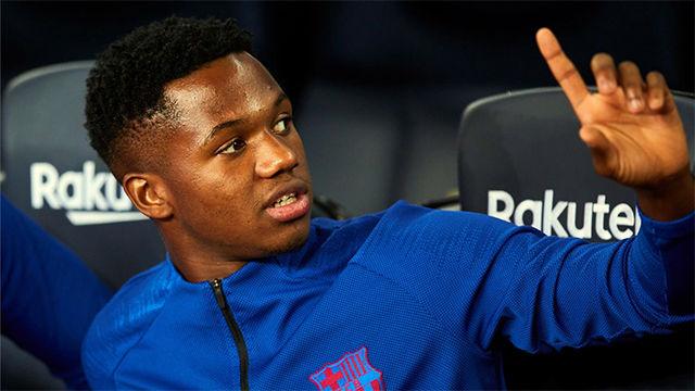 Ansu Fati va con la selección sub-21