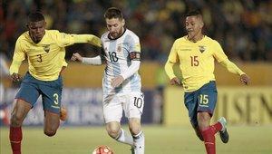 Argentina tuvo que esperar a la última fecha para clasificar al Mundial