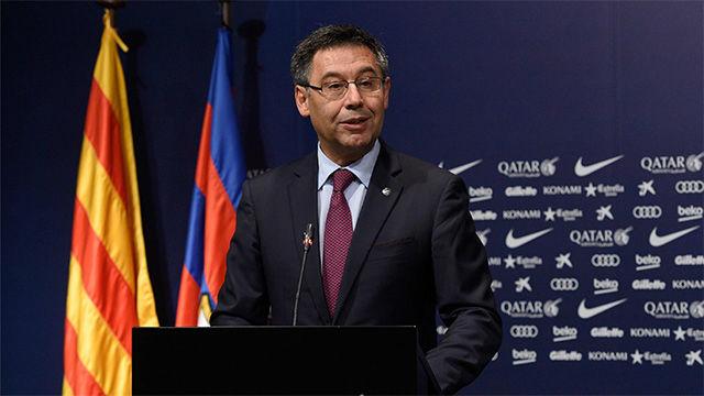Así ha anunciado Bartomeu la llegada de Valverde