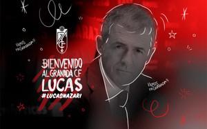 Así anunció el Granada en las redes sociales el regreso de Lucas Alcaraz
