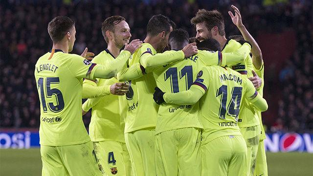Así han sido los goles del eléctrico PSV-Barça